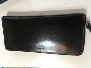 ラナパーを使ってぴかぴかになった革財布